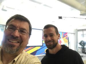 Me & Jack Dorsey, Twitter CEO