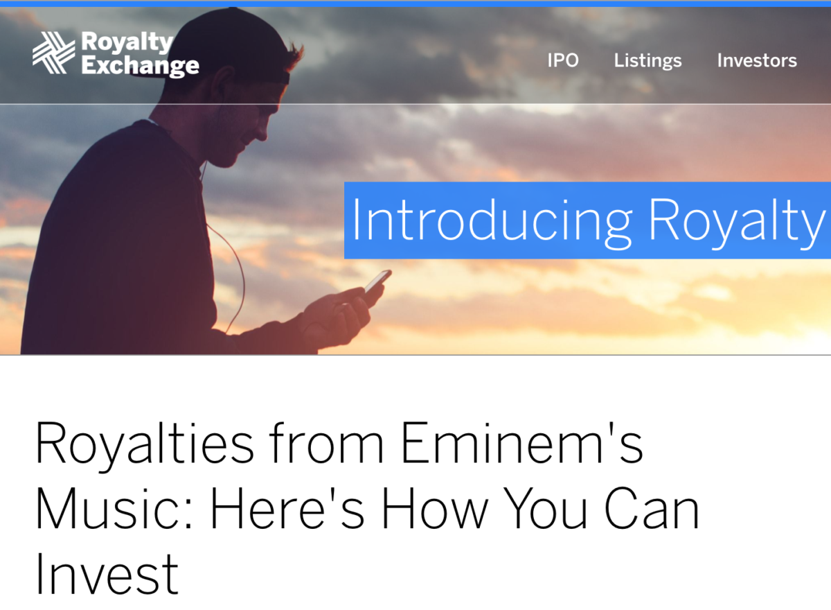 Eminem Catalog Launches 1st Music Royalty IPO