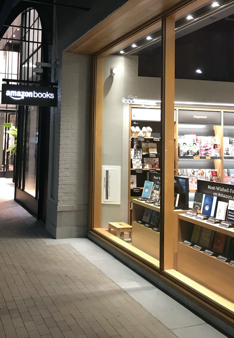 1st Hand Review of 1st Amazon Bookstore in SF Bay Area