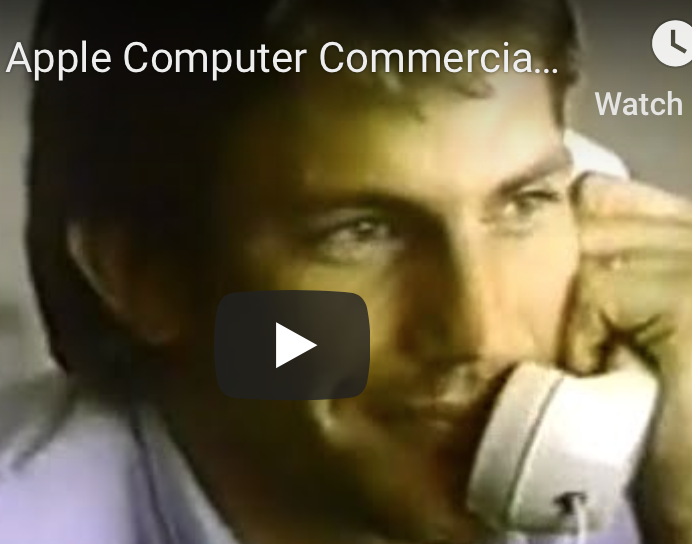 Kevin Costner Starred in 'Ancient' Apple Ad: Wall Street Video of the Week