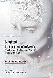 Digital Transformation: Survive and Thrive in a Era of Mass Extinction
